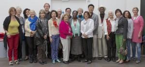На фото: Члены Исполкомов IBBY 2010-2012 и 2012-2014, Лондон, Империал колледж, 27 августа 2012 года.
